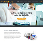 Science Services Wordpress Theme