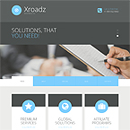 Xroadz Corporate Theme For Wordpress