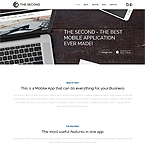 The Second Application Wordpress Theme