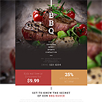 Food And Drink Website Template