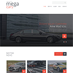 Mega Cars Joomla Template