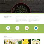 Garden Web Page Template