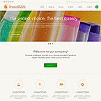 Chemical Industrial Web Template