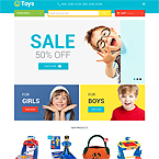 Toys Magento Template