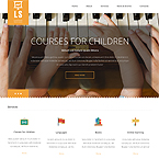 Learning Services Website Template