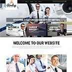 Air Transportation Web Template