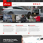 Repair Company Web Page Template