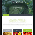 Agrona Farming Joomla Template