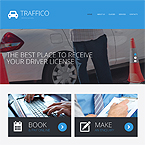Trafico Driving Html Template