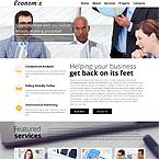 Economix System Web Template