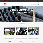 Pipeline Industrial Site Template