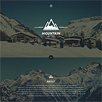 Mountain Hotel Web Template