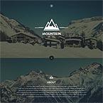 Mountain Hotel Web Template