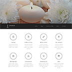 Candles Website Template