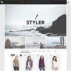 Styler Template For Prestashop
