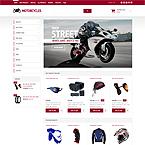 Motorcycles Zencart Template