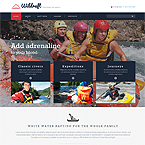 Adventure Water Website Theme