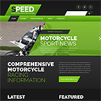 Speed Sport Web Page Template