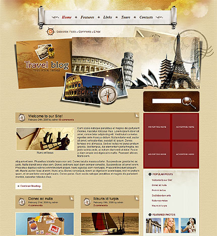 wordpress,responsive,template
