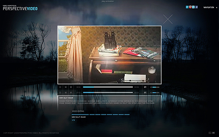 Video portfolio full XML flash template