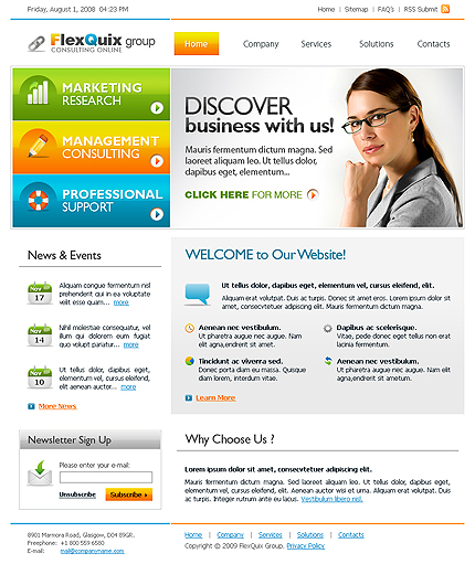 Business CSS template