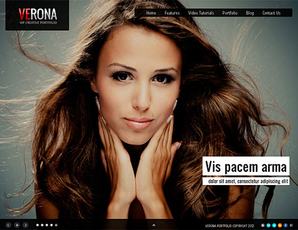 Verona Creative Portfolio Wordpress Theme