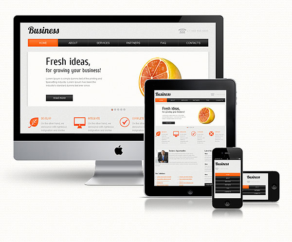 Business Responsive Template