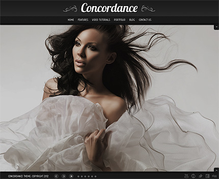 Concordance Photo Portfolio Wordpress Theme