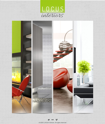 Interiors Facebook Timeline Template