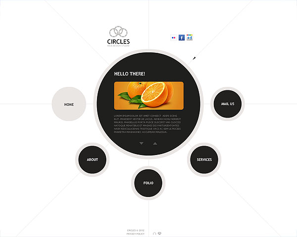 Design Flash CMS Site