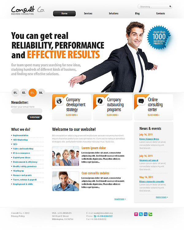 Advertising Agency Wordpress Template