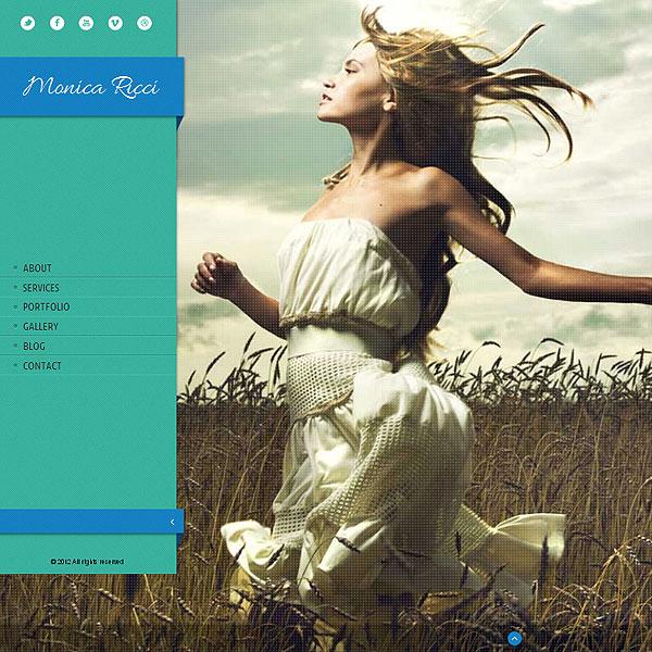 Fullscreen Photography Website Template