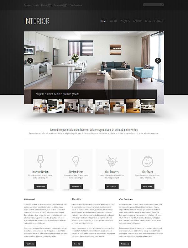 Interior Wordpress Theme
