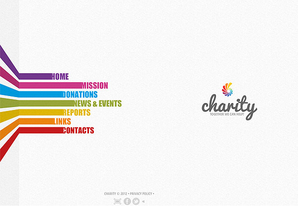 Charity Children Flash Template