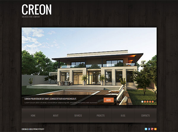 Architecture Company Theme For Wordpress