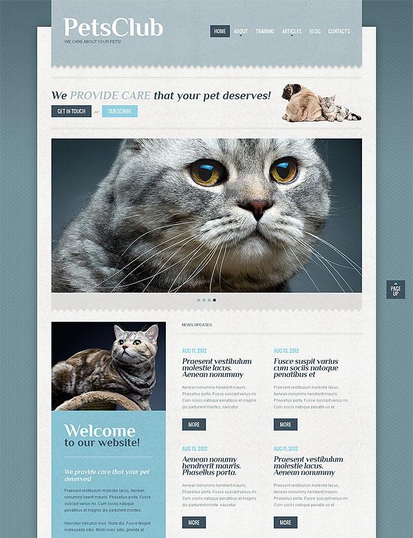 Pets Club Wordpress Theme
