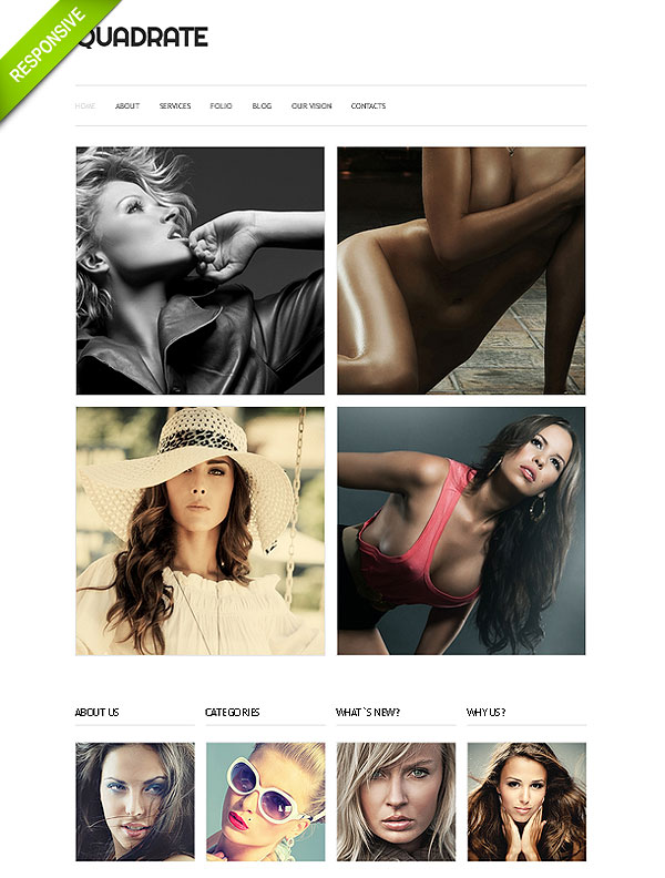 Fashion Models Joomla Template