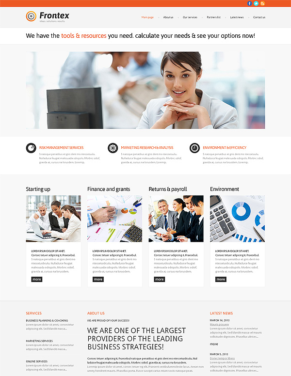 Company Business Wp Theme