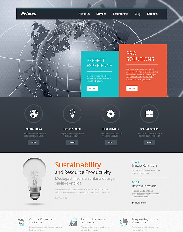 Business Theme For Wordpress
