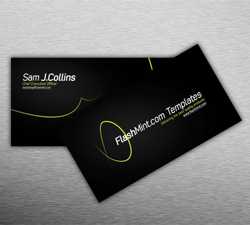 free business card design by FlashMint