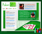 Poker flash template