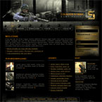 Counter strike website template