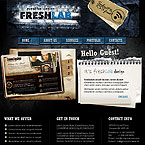Fresh labs design PSD template