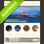 Industrial Responsive Bootstrap HTML Theme