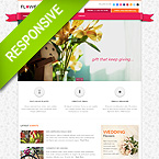 Flowers Responsive Bootstrap HTML Theme