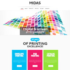 Printing Service Html Template