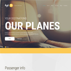 Aviation Wordpress Theme